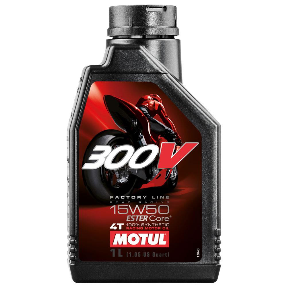 Моторное масло Motul 300V Factory Line Road Racing 5W40 4л - фото 9