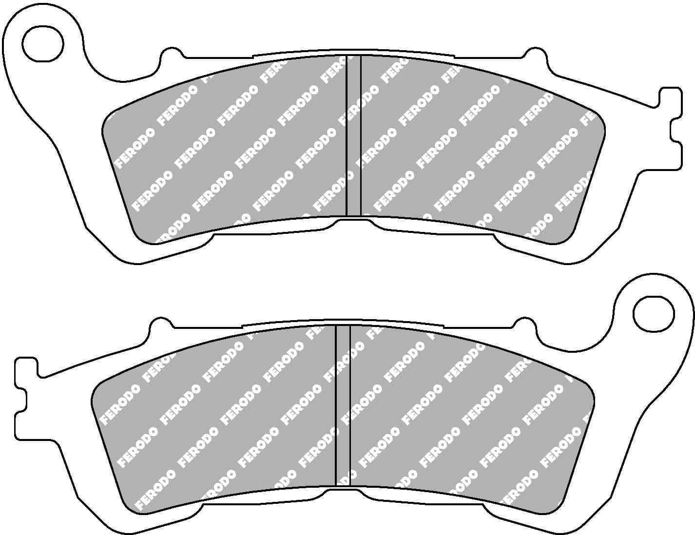 колодки задние Хонда VFR 1200 #9