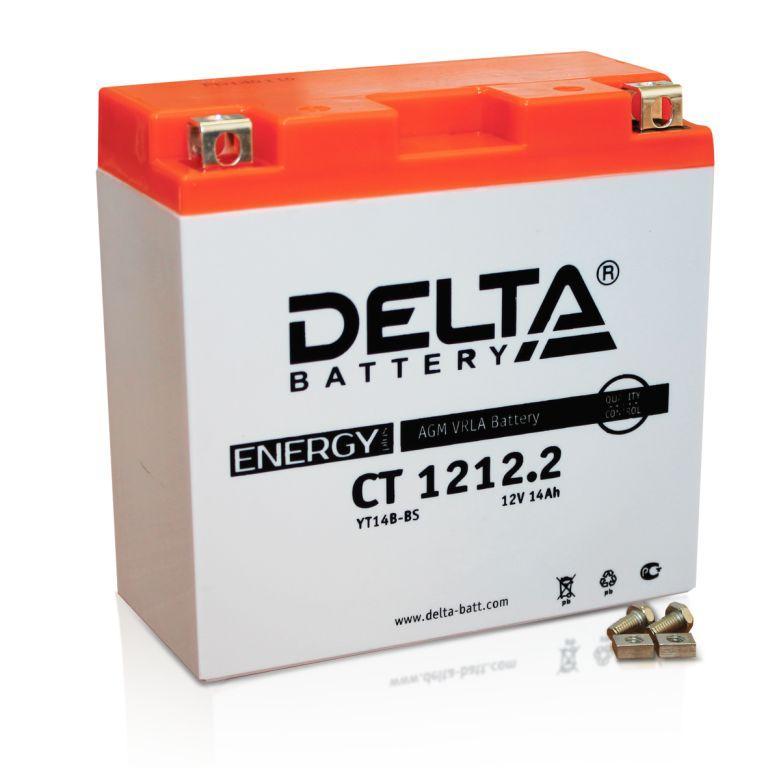 Аккумулятор для мототехники Delta Battery CT 1212 - фото 5