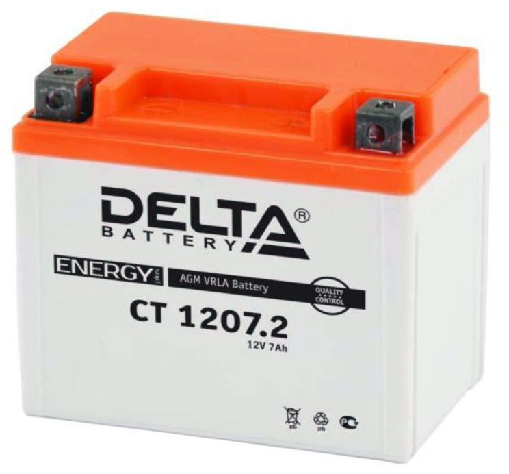 Аккумулятор для мототехники Delta Battery CT 1212 - фото 4