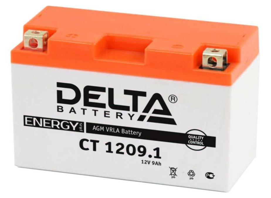Аккумулятор для мототехники Delta Battery CT 1212 - фото 11